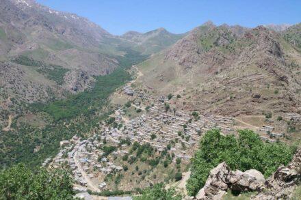 Hawraman/Uramanat Takht Village in Kurdistan. Photo: Hamid Binaei Faa