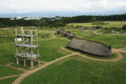 Sannai Maruyama Site. Photo: Aomori Prefecture Board of Education (Cultural Property Protection Division)