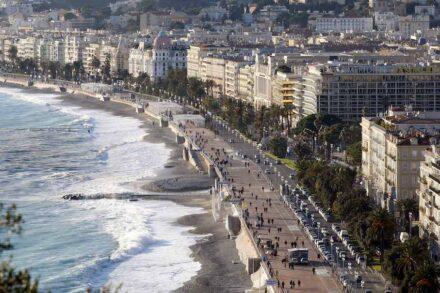 Nice, capital of Riviera tourism. Photo: Ville de Nice