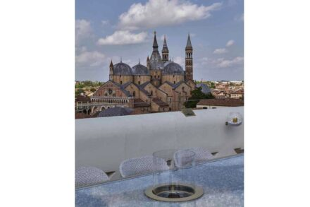 Studio Marco Piva, private home in the heart of Padua: rooftop terrace.