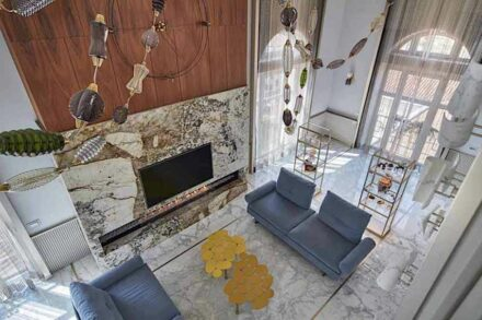 Studio Marco Piva, private home in the heart of Padua: living room.