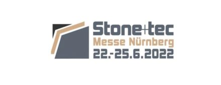 The Logo of Stone+tec 2022.
