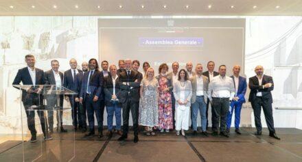 The board members of Confindustria Marmomacchine.
