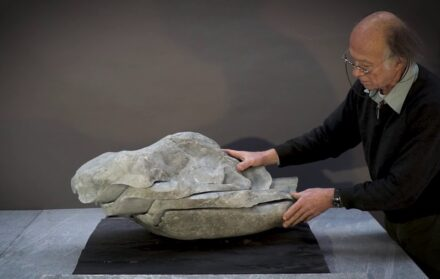 "Nicolas Bertoux: ""Living Stone""."