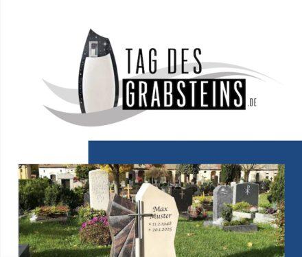 Deckblatt der Broschüre zum Tag des Grabsteins 2021.