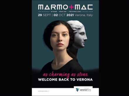 Poster campaign Marmomac 2021.
