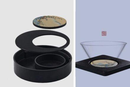 """""""Artifacts in Stones"""". Designer: Ruyi Tang."""