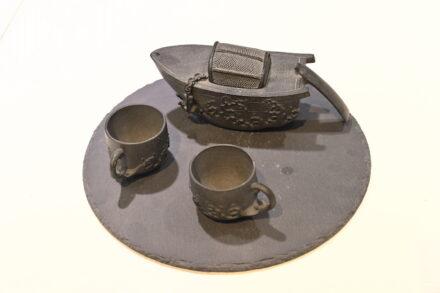 """""""Artifacts in Stones"""". Designer: Xia Fei Art of Sculpture."""