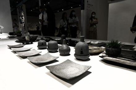 """""""Artifacts in Stones"""". Designer: Wang Ronghai Sculpture Art Studio."""