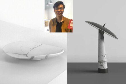 """""""Artifacts in Stones"""". Designer: Chen Youxin."""