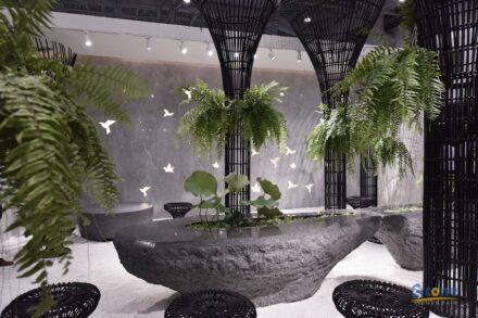 """Spiritual Space"" designed by Lai Yanan."