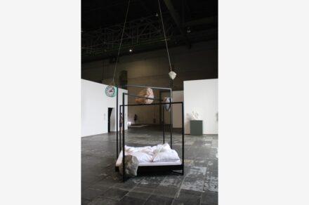 """Alicja Kwade: """"Konstellation 2020"""" and """"Das bewegte Leben des Moments""""."""