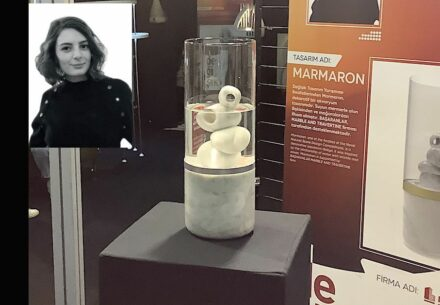 "Ece Öner, Başaranlar Marble, Travertine company: ""Marmaron"" is a decoration for the aquarium and recreates caves in the sea."