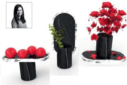 "Winner Melisa Bilgici, Company Laodikeia: ""Mona"", an object für everyday usage with many functions."