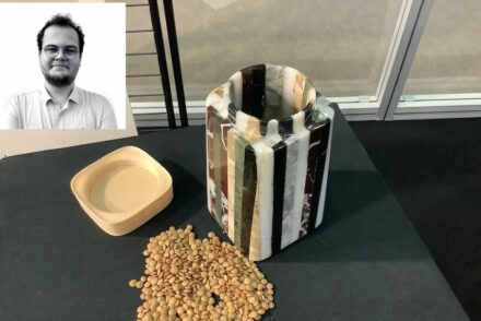 "Enes Cinfer, Iz-Ko Marble company: container ""Karma""."