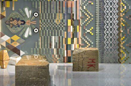 """Marmomacc Meets Design"" 2011, Designerin Patricia Urquiola für die Firma Budri."