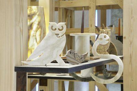 """""""Marmomacc Meets Design"""" 2012, Designer Tobia Scarpa für die Firma Testi Group."""