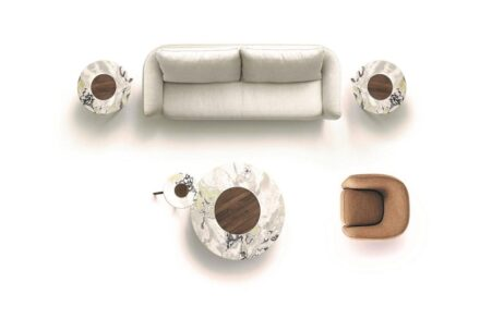 """""""Lotus"""" small tables by for <a href=""""https://www.ceppisrl.com/""""target=""""_blank"""">Ceppi – the Italian Touch</a> company."""