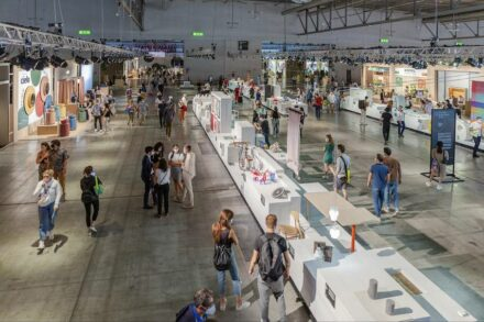 On display in one hall: 170 student projects from 48 design schools across 22 countries.