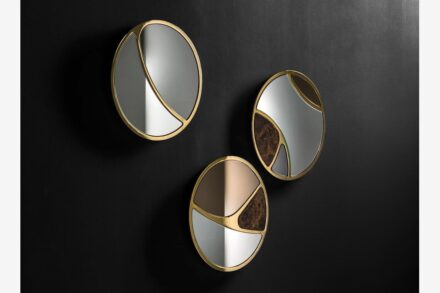 """Delta"" mirrors from <a href=""https://www.blacktiehomedecor.it/""target=""_blank"">Black Tie</a> company."